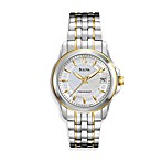 Bulova Women's Precisionist Mother-of-Pearl Dial Stainless Steel Watch