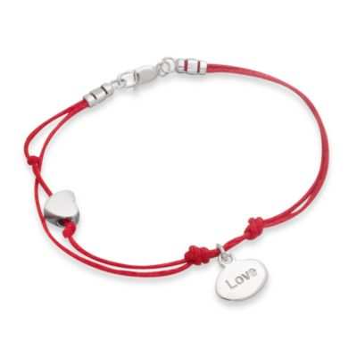 emma&me® Love Mini Charm Cord Bracelet