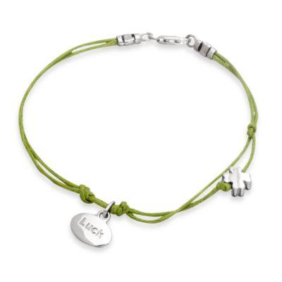 emma&me® Luck Mini Charm Cord Bracelet
