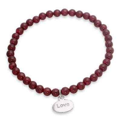 emma&me® Love Mini Charm Bead Bracelet