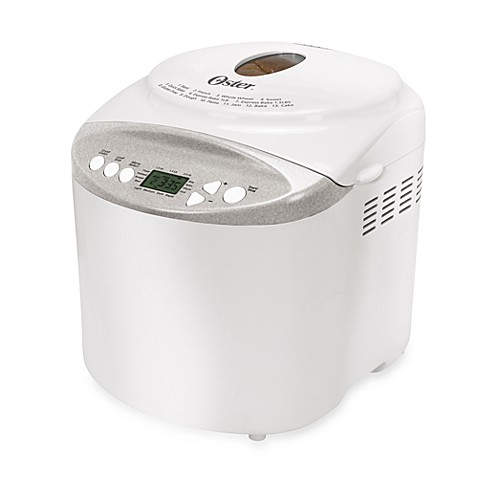 ... Bread Maker with Gluten-Free Setting in White from Bed Bath & Beyond