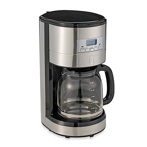 Coffee Maker Reviews Drip : Wolfgang Puck? 12-Cup Programmable Drip Coffee Maker - Bed Bath & Beyond
