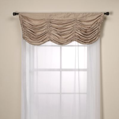 Otello Honeycomb Pinch Pleat Window Valance
