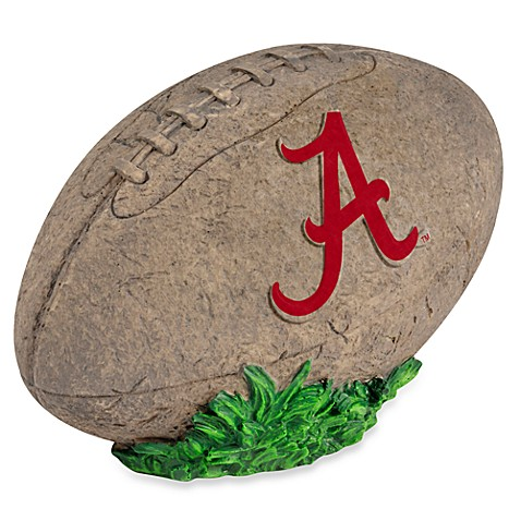 University of Alabama 3D Football Garden Stone