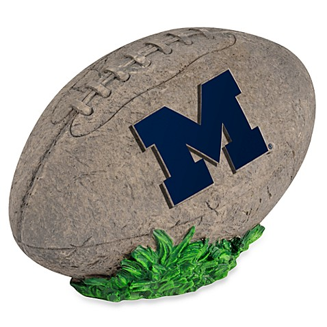 University of Michigan 3D Football Garden Stone