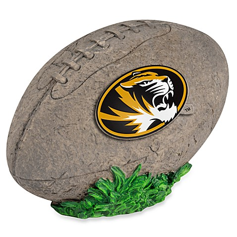 University of Missouri 3D Football Garden Stone