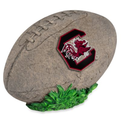 University of South Carolina 3D Football Garden Stone