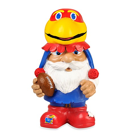 University of Kansas Mad Hatter Garden Gnome