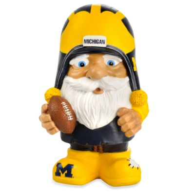 University of Michigan Mad Hatter Garden Gnome