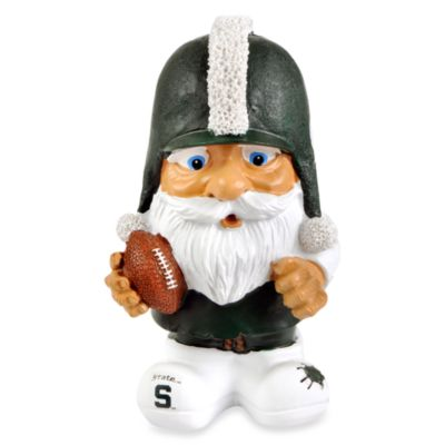 Michigan State Mad Hatter Garden Gnome