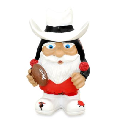 Texas Tech University Mad Hatter Garden Gnome