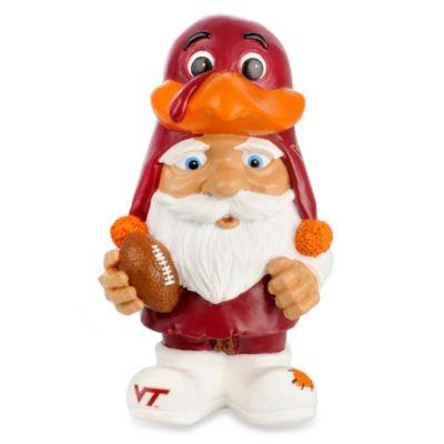 Virginia Tech Mad Hatter Garden Gnome