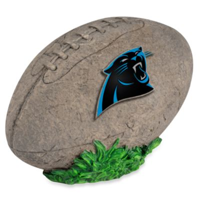 Carolina Panthers 3D Football Garden Stone