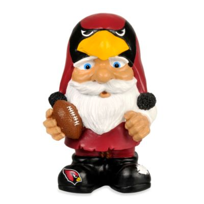 Arizona Cardinals Mad Hatter Garden Gnome