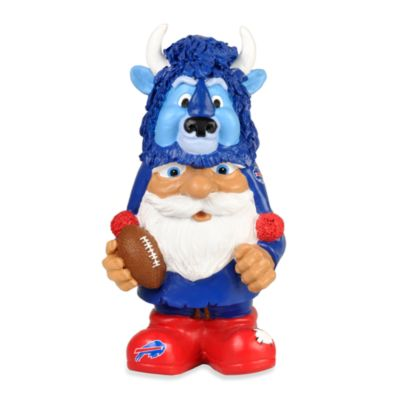 Buffalo Bills Mad Hatter Garden Gnome