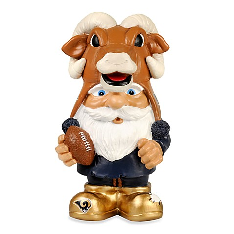 St. Louis Rams Mad Hatter Garden Gnome
