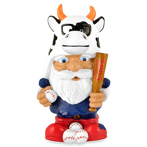 MLB Chicago Cubs Mad Hatter Garden Gnome