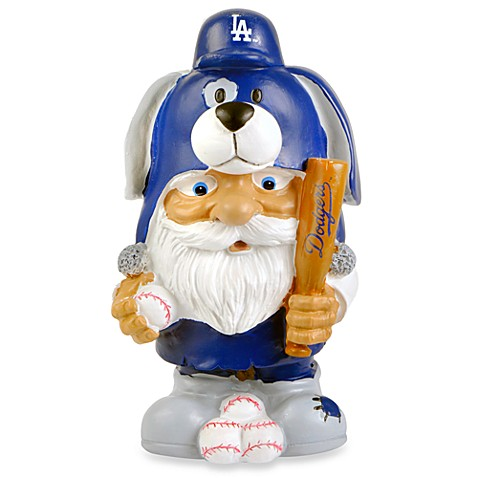 MLB Los Angeles Dodgers Mad Hatter Garden Gnome