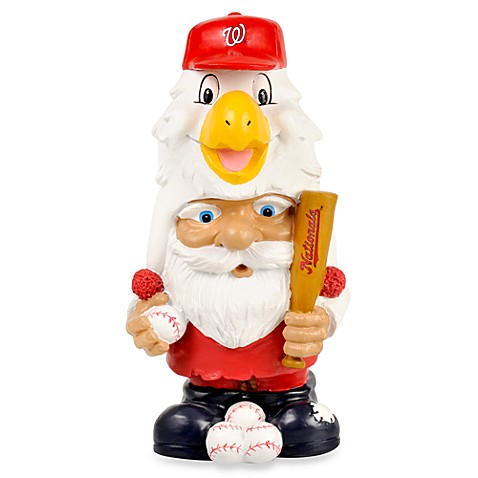 MLB Washington Nationals Mad Hatter Garden Gnome