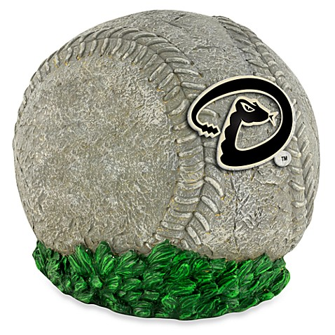 MLB Arizona Diamondbacks 3D Baseball Garden Stone