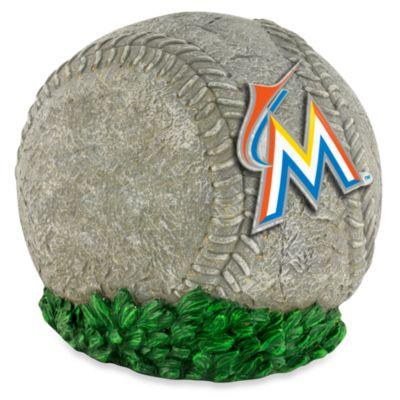 MLB Miami Marlins 3D Baseball Garden Stone