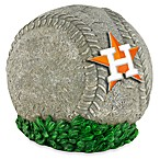 Houston Astros 3D Baseball Garden Stone