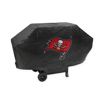 Tampa Bay Buccaneers Deluxe Barbecue Grill Cover