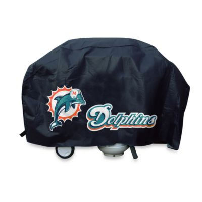 NFL Miami Dolphins Deluxe Barbecue Grill Cover