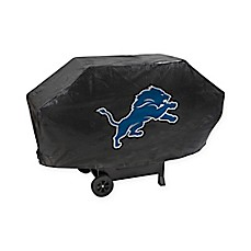NFL Detroit Lions Deluxe Barbecue Grill Cover