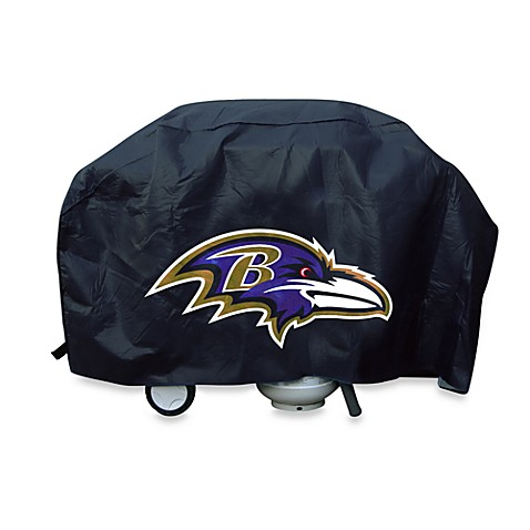 NFL Baltimore Ravens Deluxe Barbecue Grill Cover