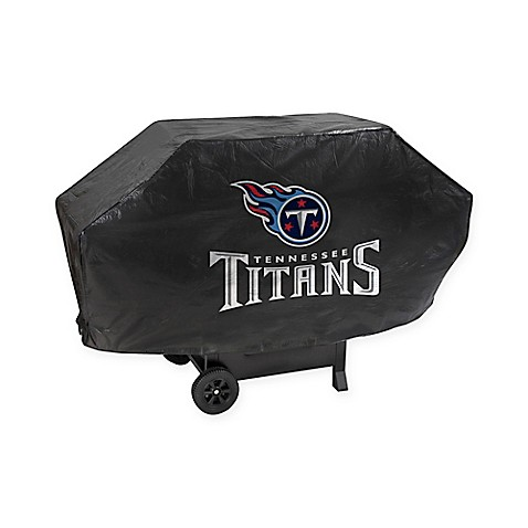 NFL Tennessee Titans Deluxe Barbecue Grill Cover