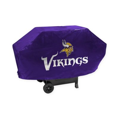 NFL Minnesota Vikings Deluxe Barbecue Grill Cover