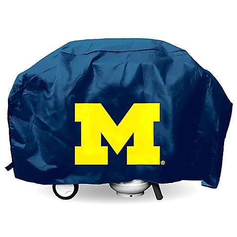 University of Michigan Deluxe Barbecue Grill Cover