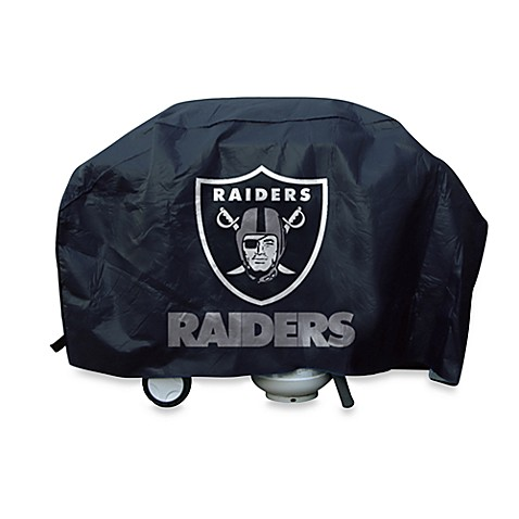 NFL Oakland Raiders Deluxe Barbecue Grill Cover