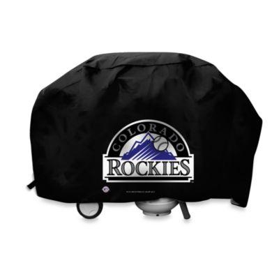 MLB Colorado Rockies Deluxe Barbecue Grill Cover