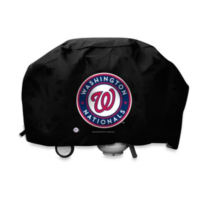 MLB Washington Nationals Deluxe Barbecue Grill Cover