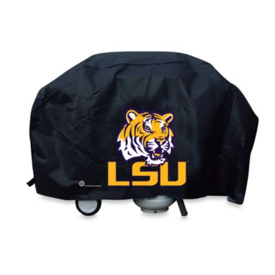 Louisiana State University Deluxe Barbecue Grill Cover