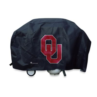 University of Oklahoma Deluxe Barbecue Grill Cover