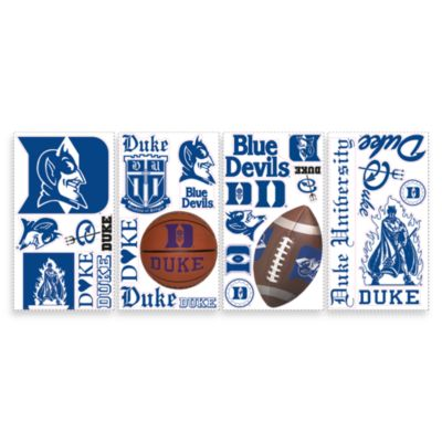 RoomMates Duke University Peel & Stick Wall Decals