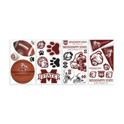 RoomMates Mississippi State Peel & Stick Wall Decals