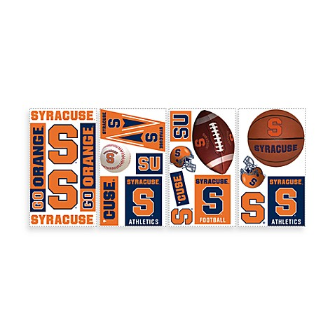 RoomMates Syracuse University Peel and Stick Wall Decals