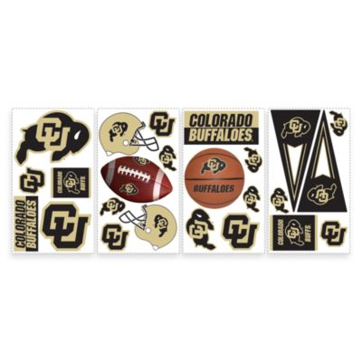 RoomMates University of Colorado Peel & Stick Wall Decals