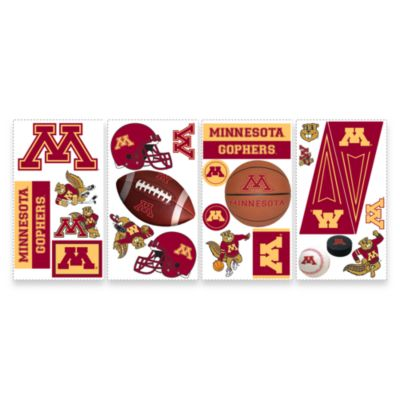 RoomMates University of Minnesota Peel & Stick Wall Decals