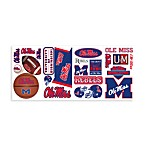 RoomMates University of Mississippi Peel & Stick Wall Decals