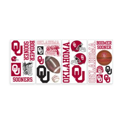 RoomMates University of Oklahoma Peel & Stick Wall Decals