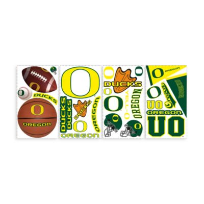 RoomMates University of Oregon Peel & Stick Wall Decals