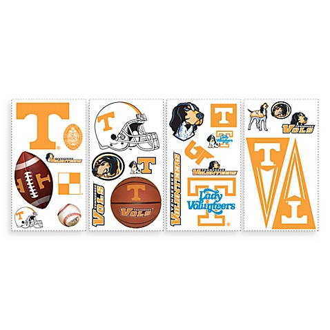RoomMates University of Tennessee Peel & Stick Wall Decals