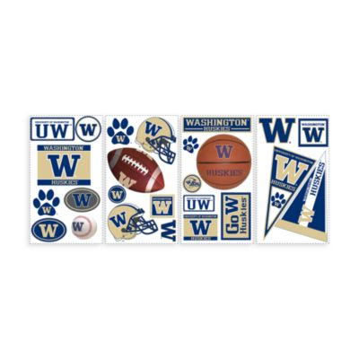 RoomMates University of Washington Peel & Stick Wall Decals