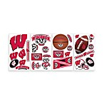 RoomMates University of Wisconsin Peel and Stick Wall Decals