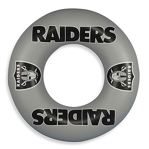 Oakland Raiders Inner Tube/Swim Ring